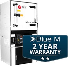 Blue M Announces New, Two-Year Warranty