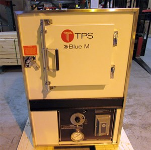Thermal Product Solutions Ships Blue M Friction-Aire® Safety Oven to a Manufacturer of Consumer Products