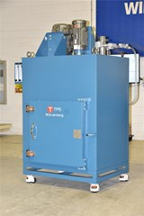 Gruenberg Ships One Explosion Resistant, Friction Heated Cabinet Oven to the Defense Industry