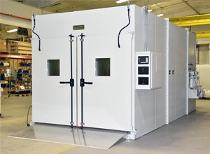 Tenney Environmental Ships Environmental Walk-in Chamber to Automotive Industry