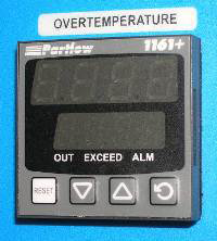 Alternate Overtemperature Protection--Partlow 1161+ High Limit Controller